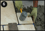 paving slabs spacer image pointing